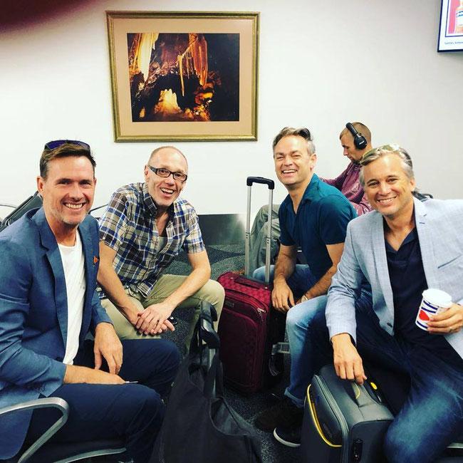 Scott Irwin, James Lee, Darryl Lovegrove and Ian Stenlake