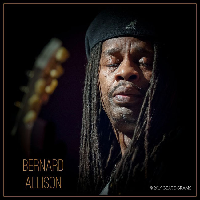 Bernard Allison © 2019 BEATE GRAMS