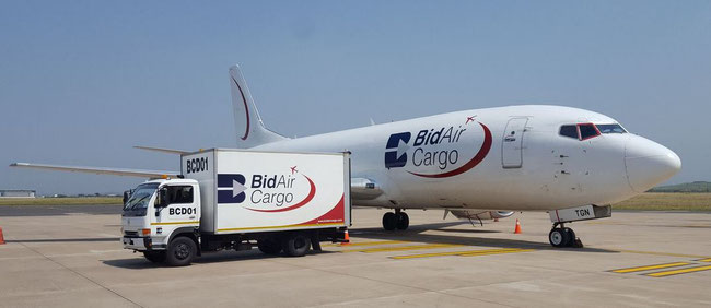 Bidvest operates a fleet of cargo aircraft  -  company courtesy