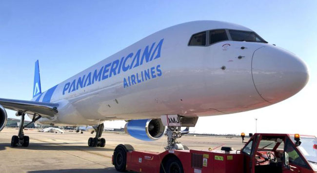 A new cargo airline is born. Image: Panamericana Airlines