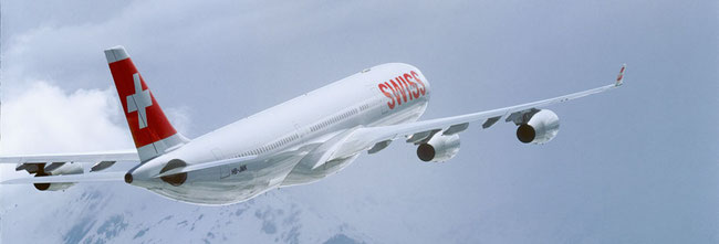 Swiss intends to operate an Airbus A340 on the Zurich-Osaka route  -  image Swiss Air Lines
