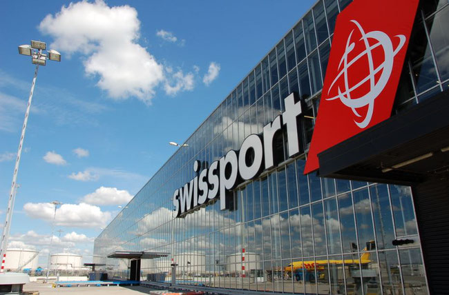 Swissport is headquartered at Zurich, Switzerland