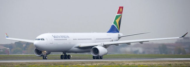 Pictured is an Airbus A330-300 operated by SAA  -  credit: Airbus