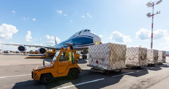 Gearing up for vaccine distribution. Image: AirBridge Cargo/Volga-Dnepr Group