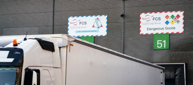 FCS is now CEIV-Pharma certified. Image: FCS Frankfurt Cargo Services GmbH