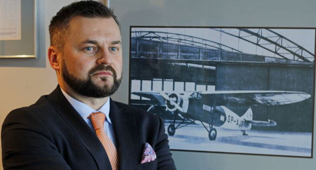 Michal Grochowski heads LOT Cargo  -  courtesy LOT