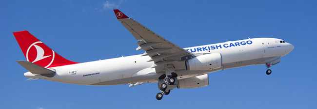 TK operates ten A330 freighters among other Airbus and Boeing models  -  company courtesy