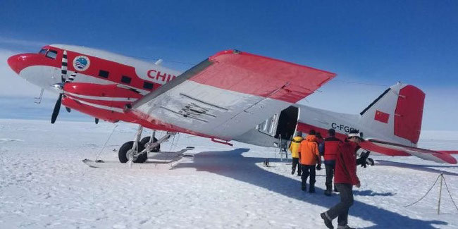 A Basler BT-76 freighter plays the key role in China's Antarctic expansion plans