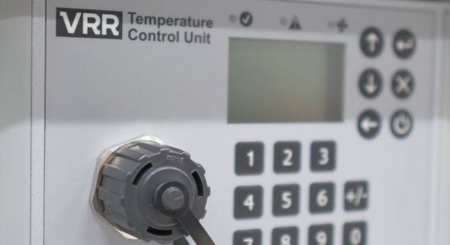 Know the temperature of your shipment online. Image: VRR