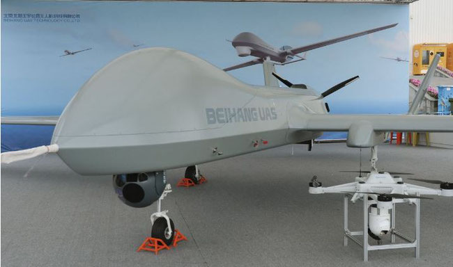 Picture: The Beihang BKZ-005 drone
