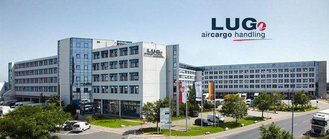Pictured here is LUG headquarters at Frankfurt Cargo City South  -  company courtesy