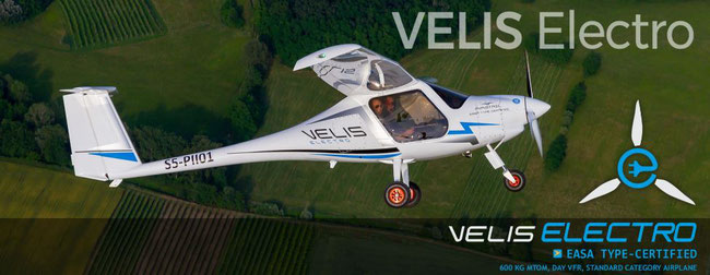 One small flight for aviation-kind… image: Pipistrel