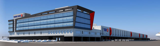 Equipping the TK Cargo Terminal at Istanbul Airport is Loediges latest scoop  -  company courtesy