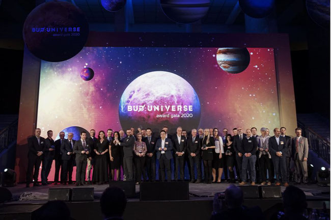 BUD Property and Cargo Awards 2020. Image courtesy of Cargolux