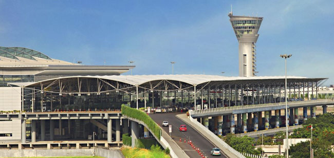 Hyderabad International Airport (pictured here) and Hermes inked deal