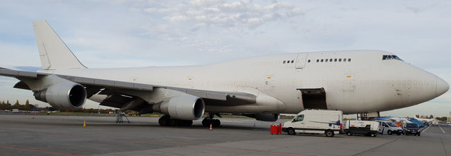 ACE Belgium operates a sole Boeing 747-400 freighter which can ….
