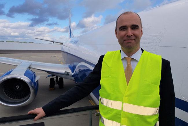 CEO Johannes Jaehn intends to grow CLG's fleet fast