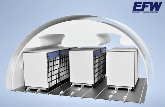 EFW's Cargo Cabin Boxes enable optimal capacity utilization, claims the producer  -  photo: EFW