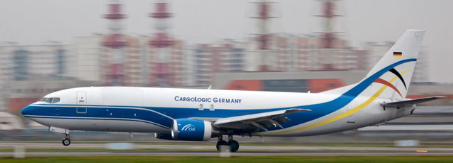 Boeing 737-400 BCF of newcomer CargoLogic Germany