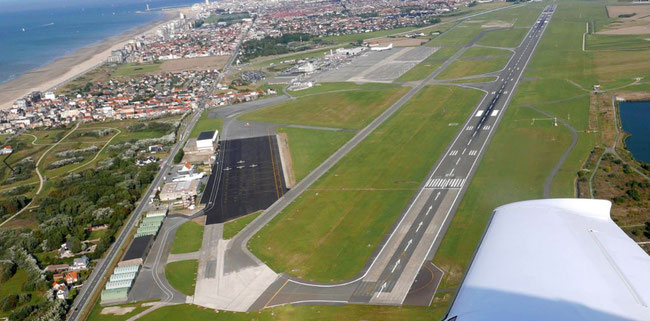 Ostend Airport – courtesy Ebos