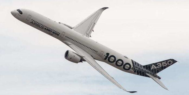Will Airbus offer the market their flagship A350 also as freighter aircraft?  -  photo: Airbus