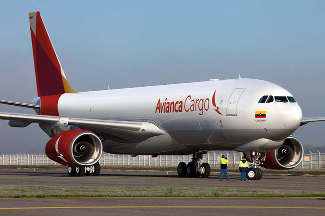 Avianca's A330-200 freighters are well utilized  -  company courtesy