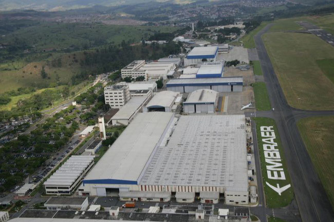 Embraer production site at San Jose dos Campos - Image company courtesy