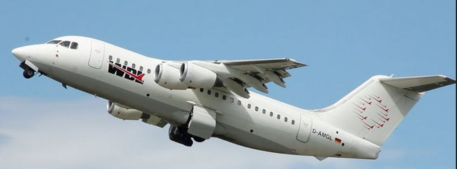 Zeitfracht group member WDL Aviation operates four BAe 146