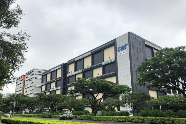 One of the five former CWT warehouses in Singapore acquired by Mapletree