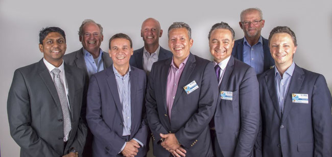 CCA leaders (left to right): Vijan Chetty / Edwin Kalischnig / Sebastiaan Scholte / Stavros Evangelakakis / Fabruzio Iacobacci / Gerton Hulsman / Nathan de Valck.