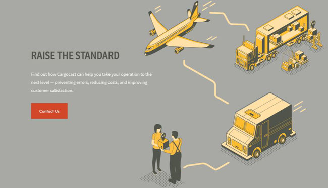 Image courtesy of Cargocast website