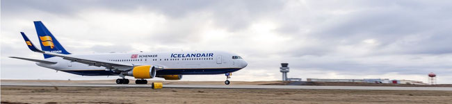 DB Schenker's China shuttle in cooperation with Icelandair - Image courtesy of Icelandair