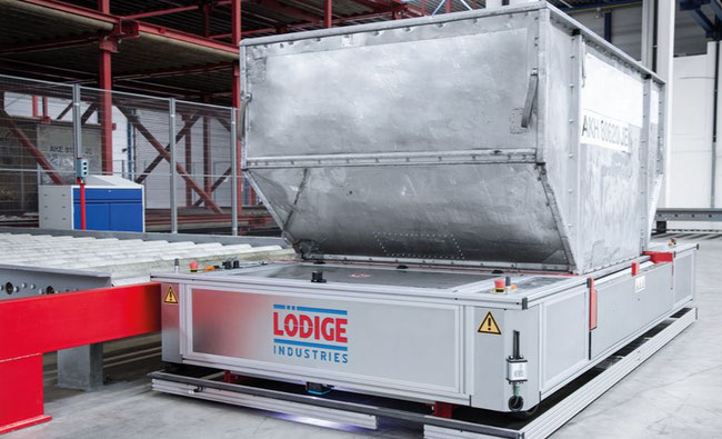 Lodige developed Automated Guided Vehicle  - AGV