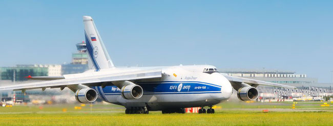 Volga-Dnepr flagship AN-124 is causing the freight company headaches  -  photo: VD