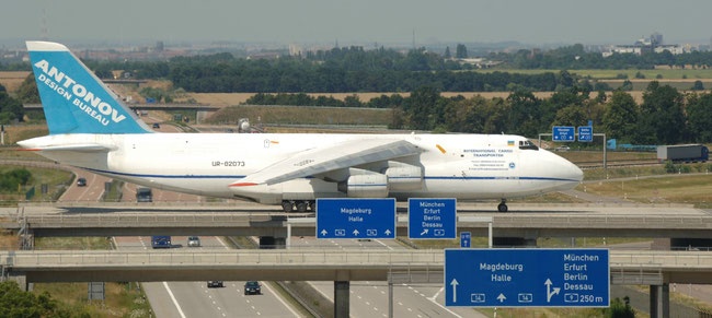 To be seen more often in future: AN-124 at Leipzig/Halle Airport