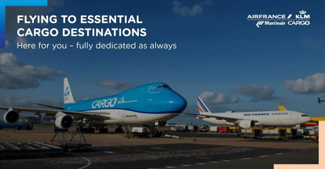 Image courtesy of Air France KLM Martinair Cargo
