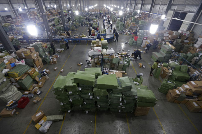 China's express industry continues growth