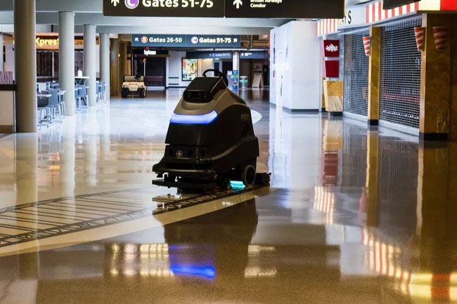 Cleaning the way at PIT  -  Image: Pittsburgh International Airport