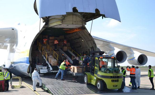 The AN-225 'Mriya' set a volume record at Paris-Vatry