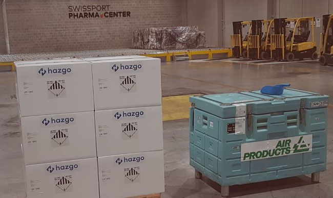 Hazgo's thermal control units and dry ice unit