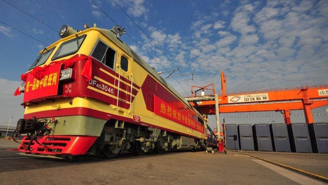 Chinese cargo trains for Nippon Express