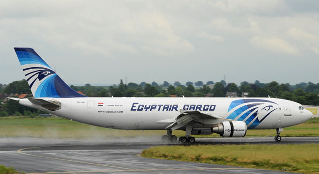 Egyptair's A330 freighters will not land in the USA – for the time being  -  photo: Egyptair