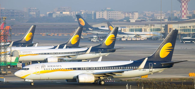 Most of Jet Airways' aircraft are currently grounded. A pilot strike would worsen the situation of the cash-strapped carrier
