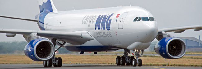 MNG's Airbus A330-200F is deployed on their new route between Cologne and New York