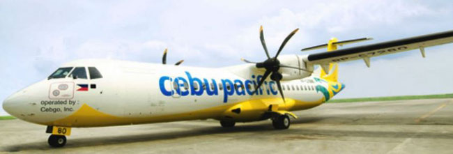 Cebu Pacific will commence freighter services soon operating two ATR-72F  -  courtesy Cebu