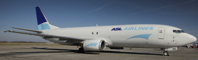 ACMI carrier ASL Aviation is one of the operators transporting goods on behalf of Amazon intra-Europe - photo: ASL