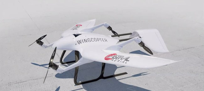 Wingcopter and Astral Aerial announced strategic partnership on 01JUN20. Image: Logistics Update Africa