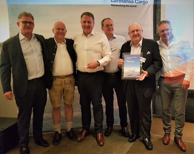 Pictured (l to r):  Stewart Sinclair, CEO BFS-PG Thailand / Thomas Sonntag, LCAG  /  Craig Smyth, WFS Group CEO  /  Justin Jacques, WFS Group SVP Commercial  /  Barry Nassberg, WFS Group CCO  /  Marc Claesen, WFS SVP Northern Europe  -  photo: hs
