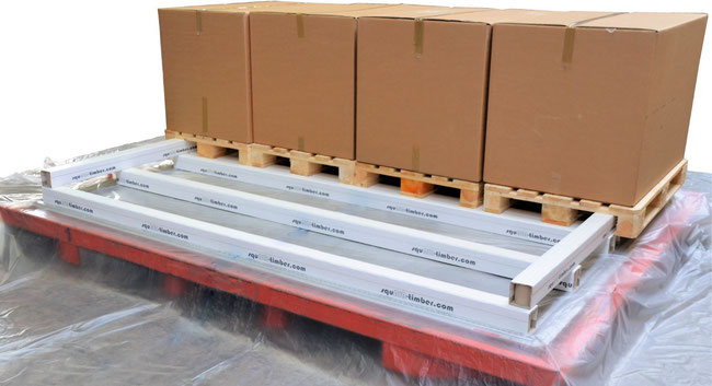 The squAIR-timber product consists of durable and ultra-lightweight cardboard fibers, reducing fuelburn