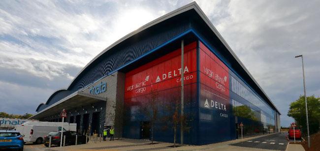 The new Heathrow facility of Virgin Atlantic and Delta Cargo is an eyecatcher
